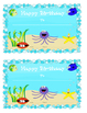 Classroom Decoration Starter Pack - Under the Sea Theme