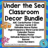 Under the Sea Classroom Theme Decor Bundle