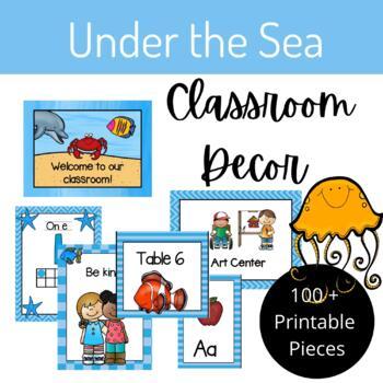 Under the Sea Classroom Decor Set
