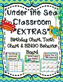 "Under the Sea Classroom ""Extras"" - Birthday Chart, Tooth C"