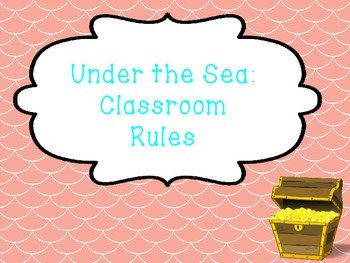 Under the Sea: Classroom Rules