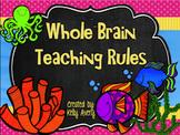 Under the Sea Whole Brain Teaching Classroom Rules