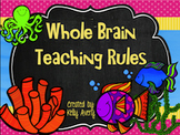 Under the Sea Whole Brain Teaching Classroom Rules