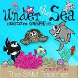 Under the Sea Clip Art Set