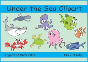 Under the Sea - Clipart
