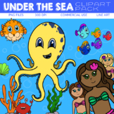 Under the Sea Clipart Pack