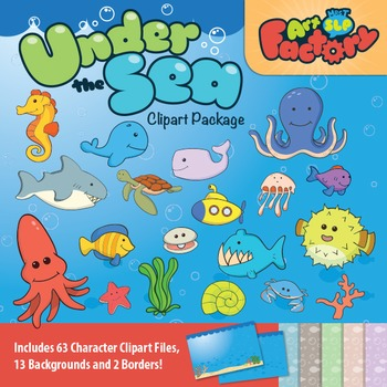 Under the Sea Clipart Package