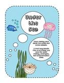 Under the Sea Close Reading {Common Core Reading Skills}