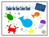 Under the Sea Color Hunt