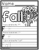 FALL COLOR BY LETTERS and NUMBERS