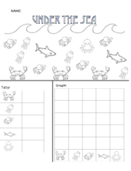 Under the Sea: Count, Tally, & Graph!
