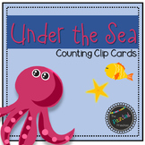 Under the Sea Counting Clip Cards