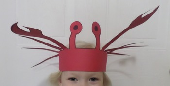 Under the Sea Crab Hat Craft