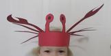 Under the Sea Crab Hat Craft