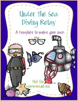 Under the Sea Diving Relay! template - Personal Use Only!