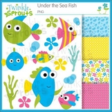 Under the Sea Fish Clipart