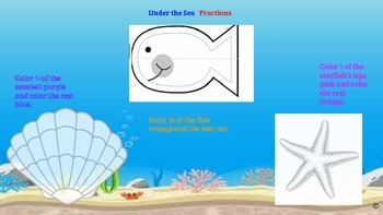 Under  the Sea Fractions