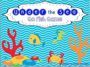 Under the Sea Go Fish Sight Words Game