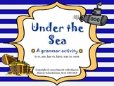 Under the Sea Grammar- is/are, has/have, was/were