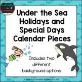 Under the Sea Holiday Calendar Pieces