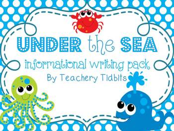 Under the Sea Informational Writing Pack