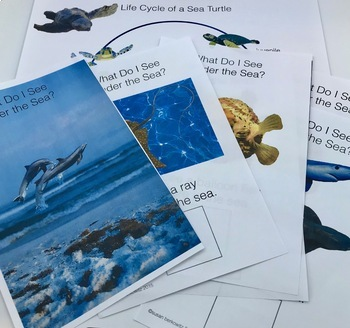 Under the Sea Language Activities and Informational Text