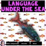 Under the Sea Informational Text Activities for Speech Therapy