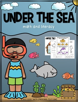 Under the Sea Language and Literacy Activities Pack
