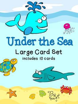 Under the Sea - Large Card Set