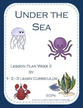 Under the Sea Lesson Plan with ECIPs Week 2