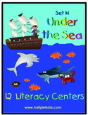 Under the Sea Literacy Centers: Half-Pint Readers Set 14