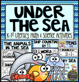 Under the Sea Literacy, Math and Science Activities