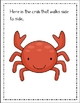 Under the Sea Literacy and Math Activities