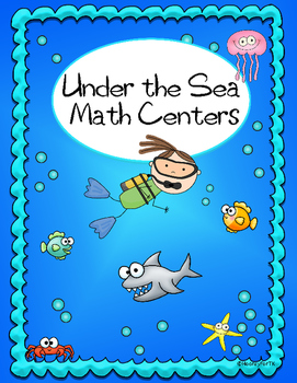 photo about Under the Sea Printable identified as Printable Below the Sea Math Things to do