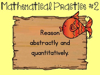 Under the Sea Mermaids Standards for Mathematical Practice Posters