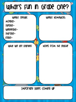 Newsletters K-5- Under the Sea Theme (Editable)