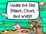 Under the Sea: Counting and Number Writing