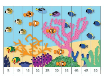 Under the Sea Number/Counting Puzzles