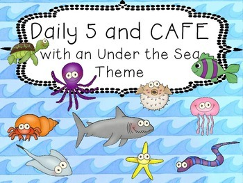 Under the Sea / Ocean Daily 5 and CAFE Set