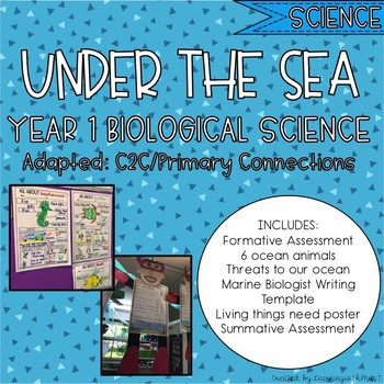 Year 1 Ocean Life - Biological Science Unit