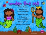 Under the Sea (Ocean, Mermaids, Sea Animals)  Bookmarks, Reading Logs, Posters