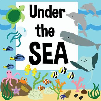 Under the Sea – Ocean Theme Classroom Decoration or Décor Set