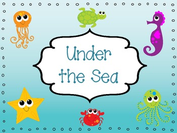Under the Sea - Ocean Themed Activities for the Primary Grades