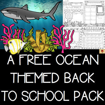 Under the Sea {Ocean} Themed All About Me and Back to Scho