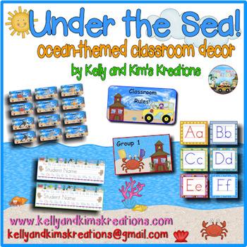 Under the Sea! {Ocean-Themed Classroom Décor}