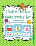 Under the Sea Ocean Themed Color Poster Set