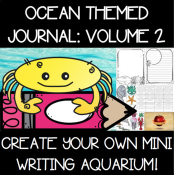 Under the Sea {Ocean} Themed Journal Set {Volume Two}