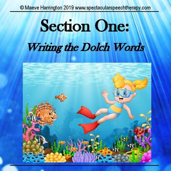 Under the Sea: Paragraph and Story Writing