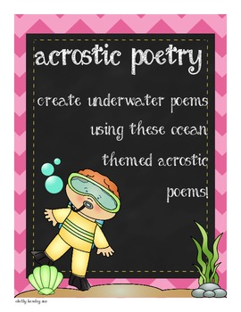Under the Sea Poetry Unit