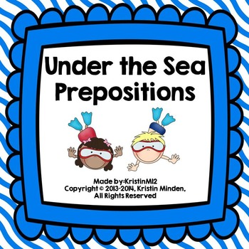 Under the Sea Prepositions